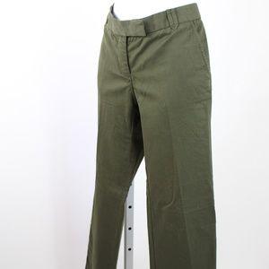 J. Crew hunter green pants wide leg size 00 short